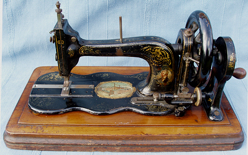 Bradbury Family No40 Sewing Machine Bradbury Letter S Gorgeous Sewing Machine Wellington