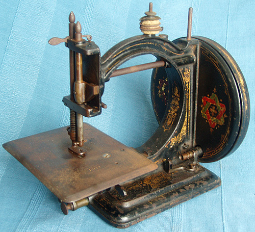 The Gresham sewing machine