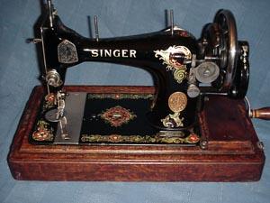Singer sewing machine Model V S 2, V S 3, 27, 28,128